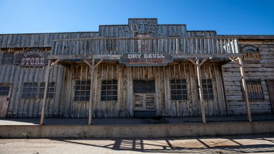 Gunslinger 66: Tumbleweed Gas Station Town in Laramie, Wyoming | Wyoming Roadside Attractions