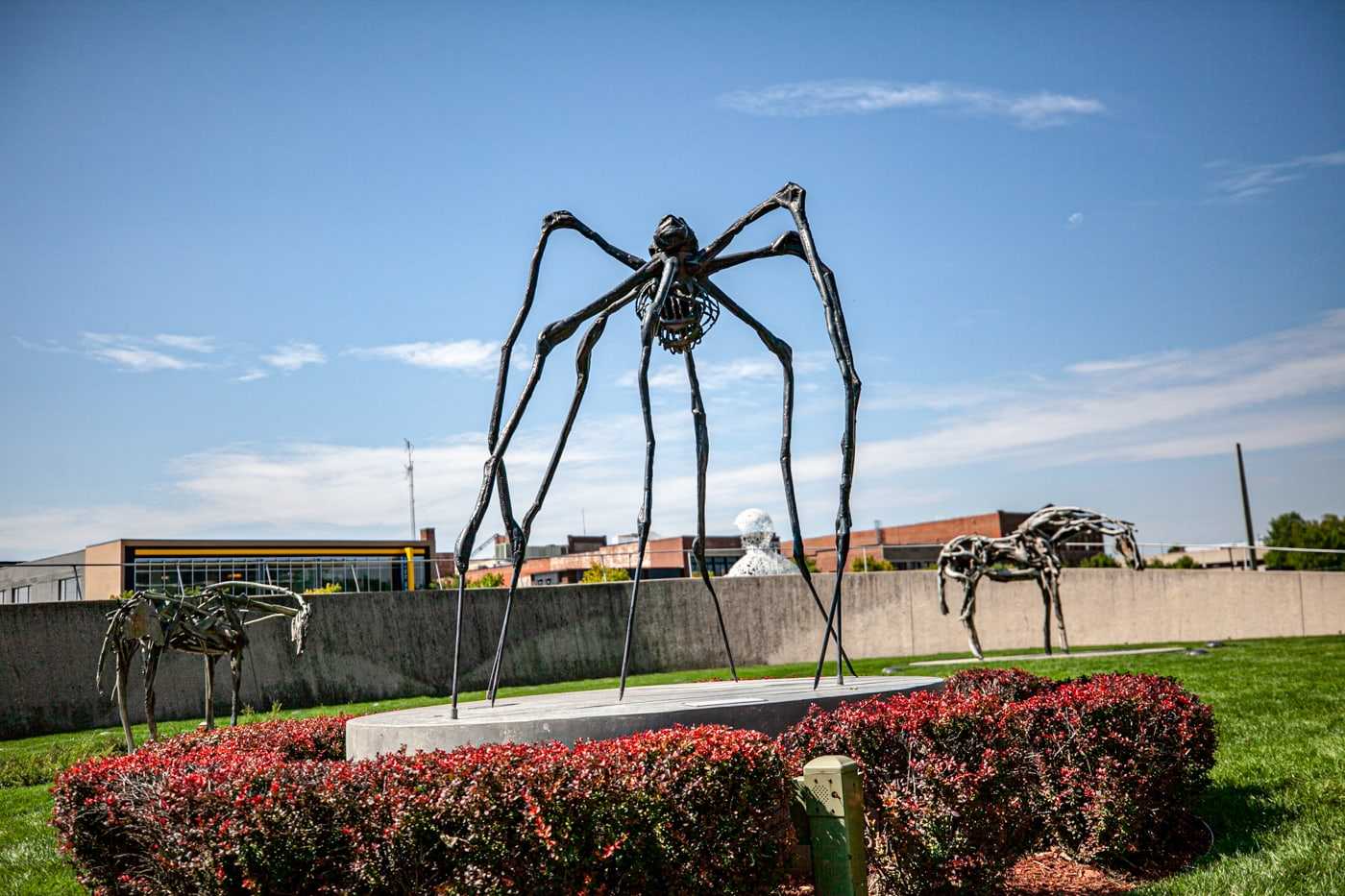 Spider by Louise Bourgeois | Pappajohn Sculpture Park in Des Moines, Iowa