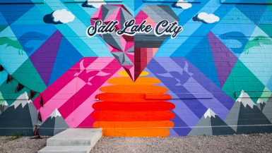 Salt Lake City Mural in Salt Lake City, Utah | Street Art in Salt Lake City, Utah