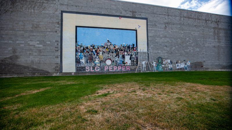 SLC Pepper Mural in Salt Lake City, Utah | Street art in Salt Lake City, Utah
