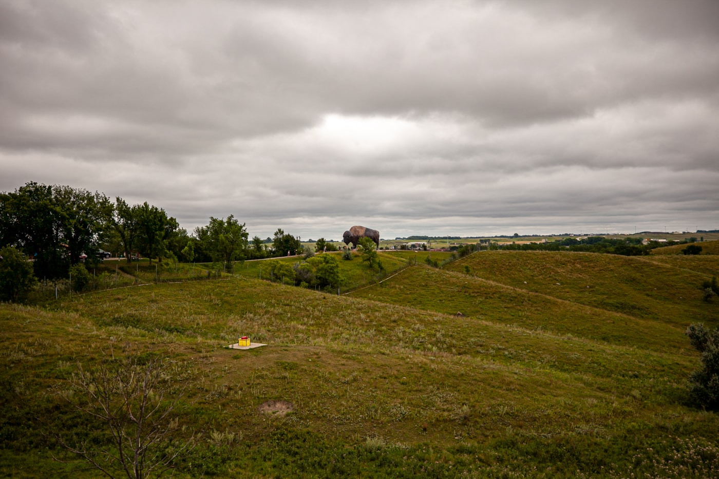 World's Largest Buffalo Monument in Jamestown, North Dakota | North Dakota Roadside Attractions