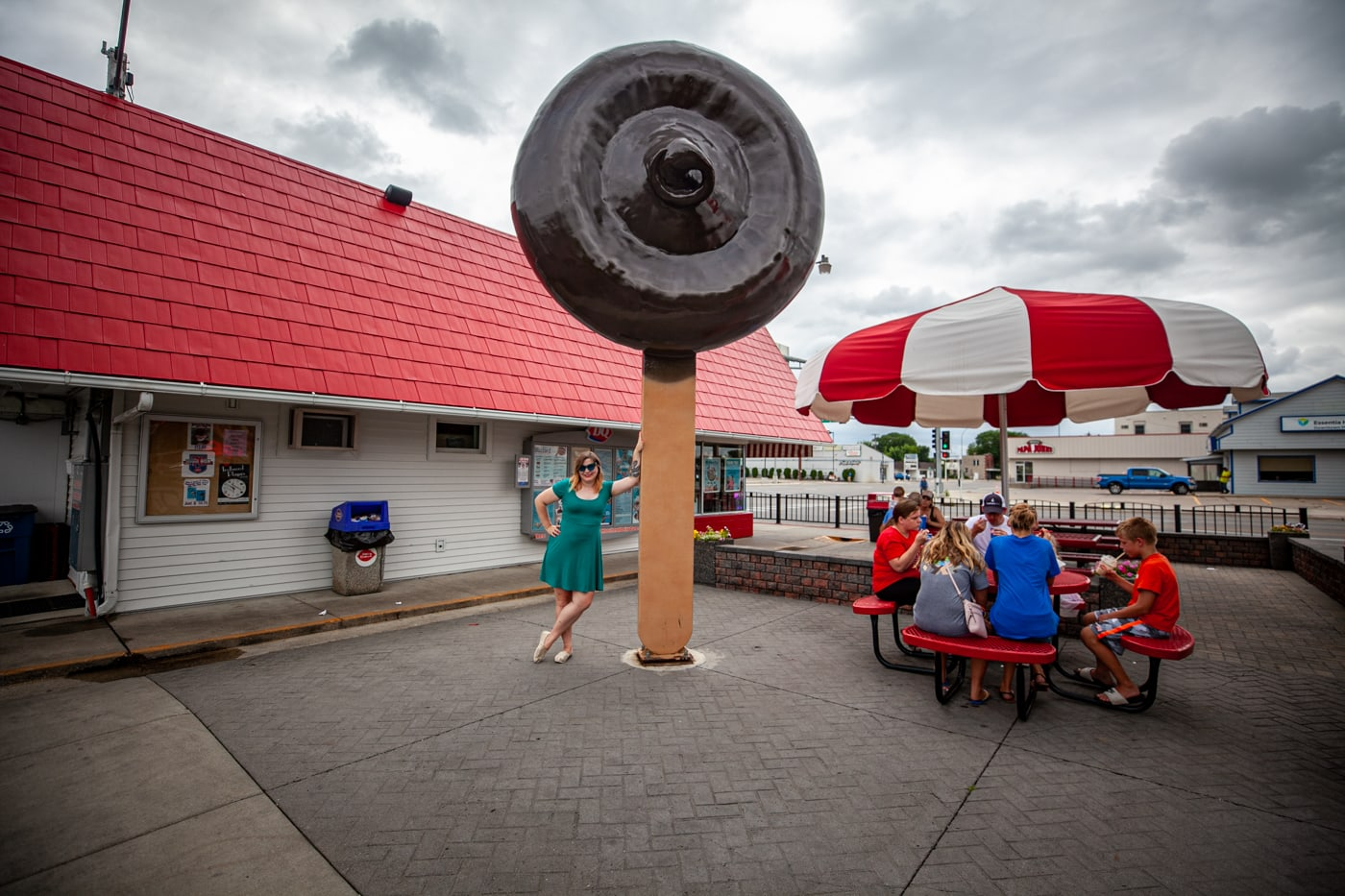 World's Largest Dilly Bar Ice Cream at the Dairy Queen in Moorhead, Minnesota | Minnesota Roadside Attractions