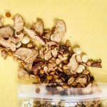 If you're looking for the perfect snack to pack on a fall road trip, look no further than this caramel apple snack mix. It tastes just like your favorite candy apple and is so reminiscent of autumn flavors.