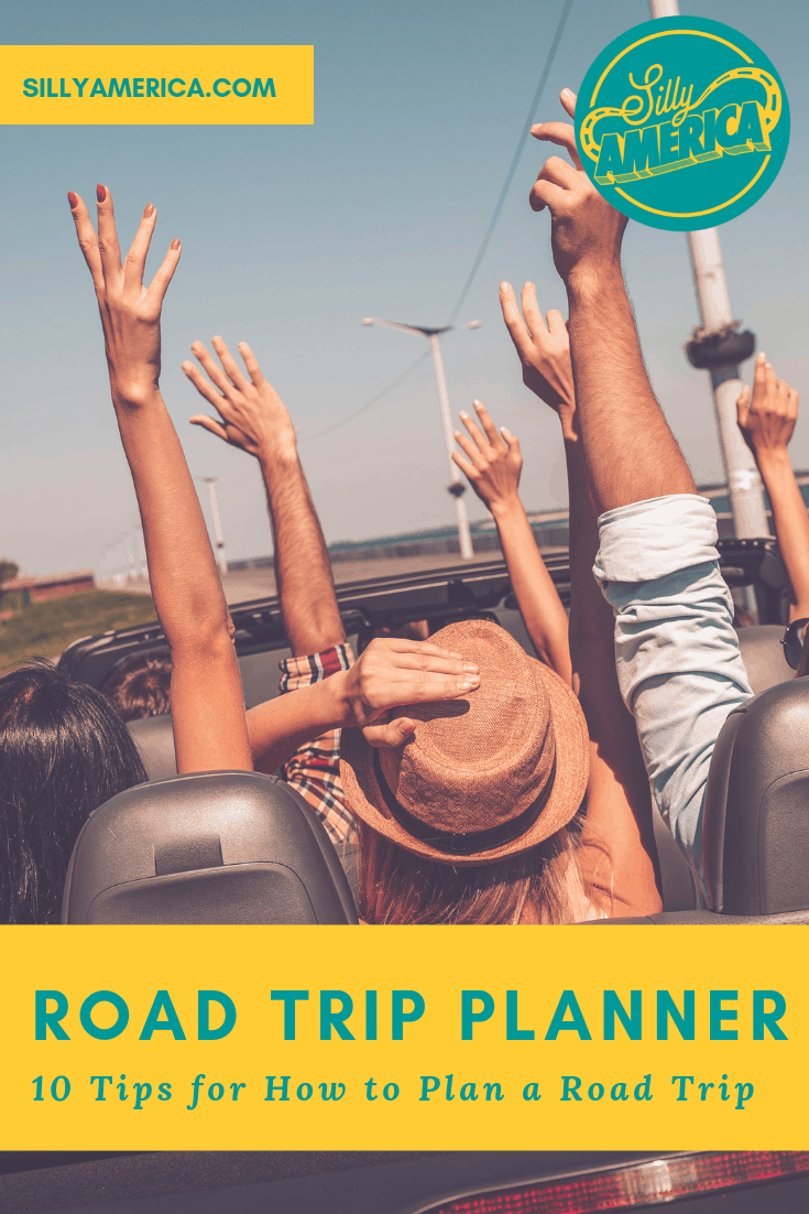Road Trip Planner: 10 Tips for How to Plan a Road Trip - Planning to hit the road but don't know where to start? Our road trip planner will help! Here are our ten best tips to help you plan your next road trip!
