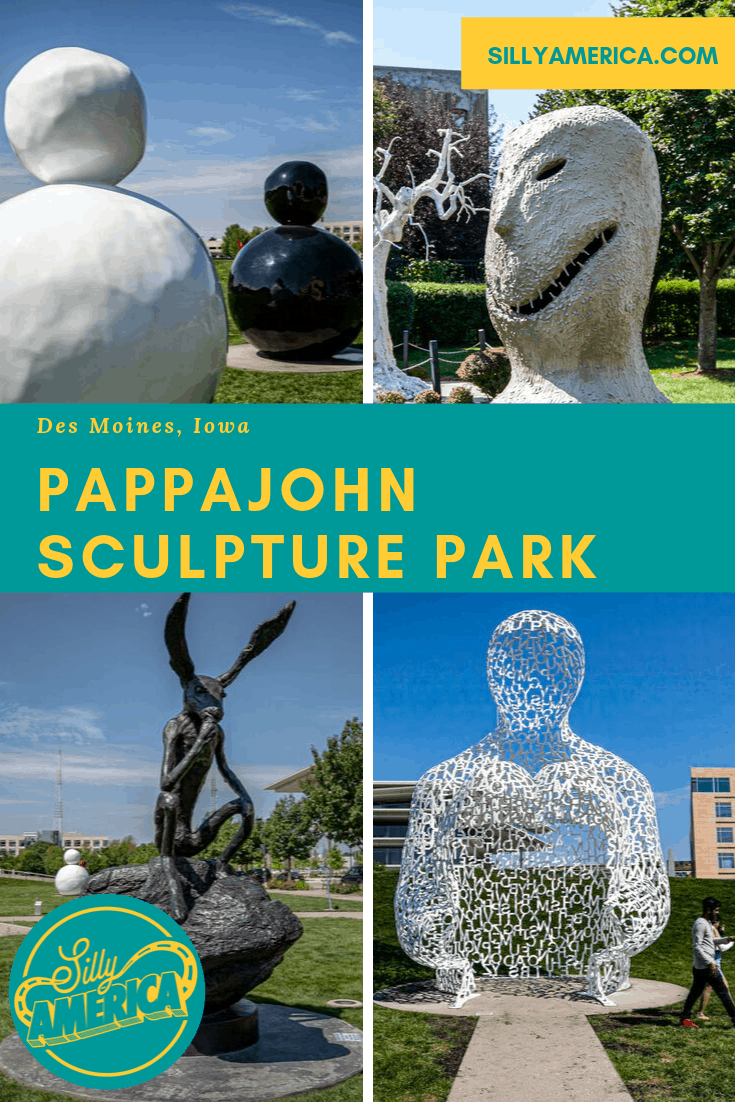Pappajohn Sculpture Park in Des Moines, Iowa