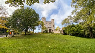 The Givins Castle in Chicago, Illinois. The only castle in Chicago. Open House Chicago.