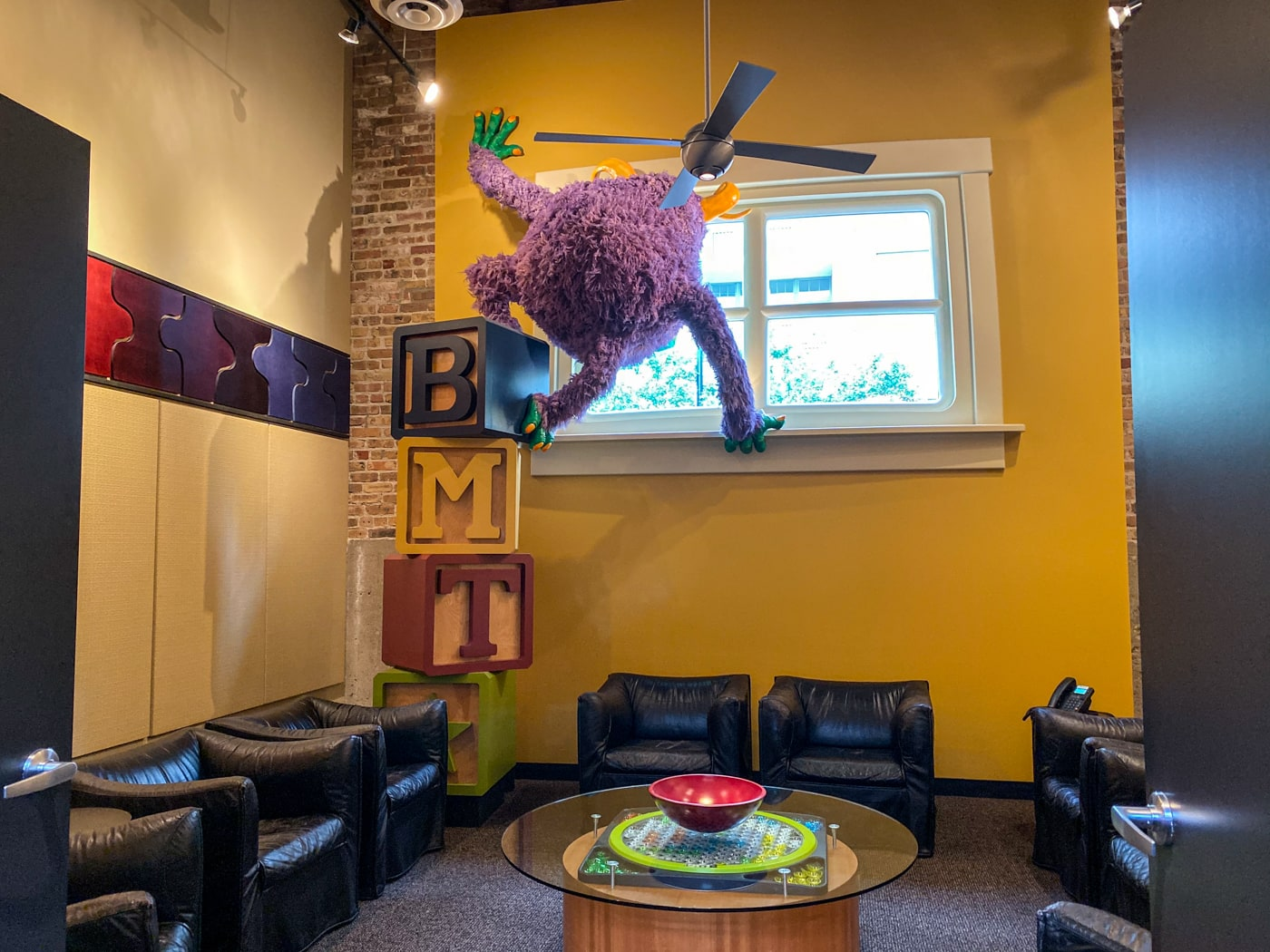 Inside Big Monster Toys in Chicago, Illinois at Open House Chicago