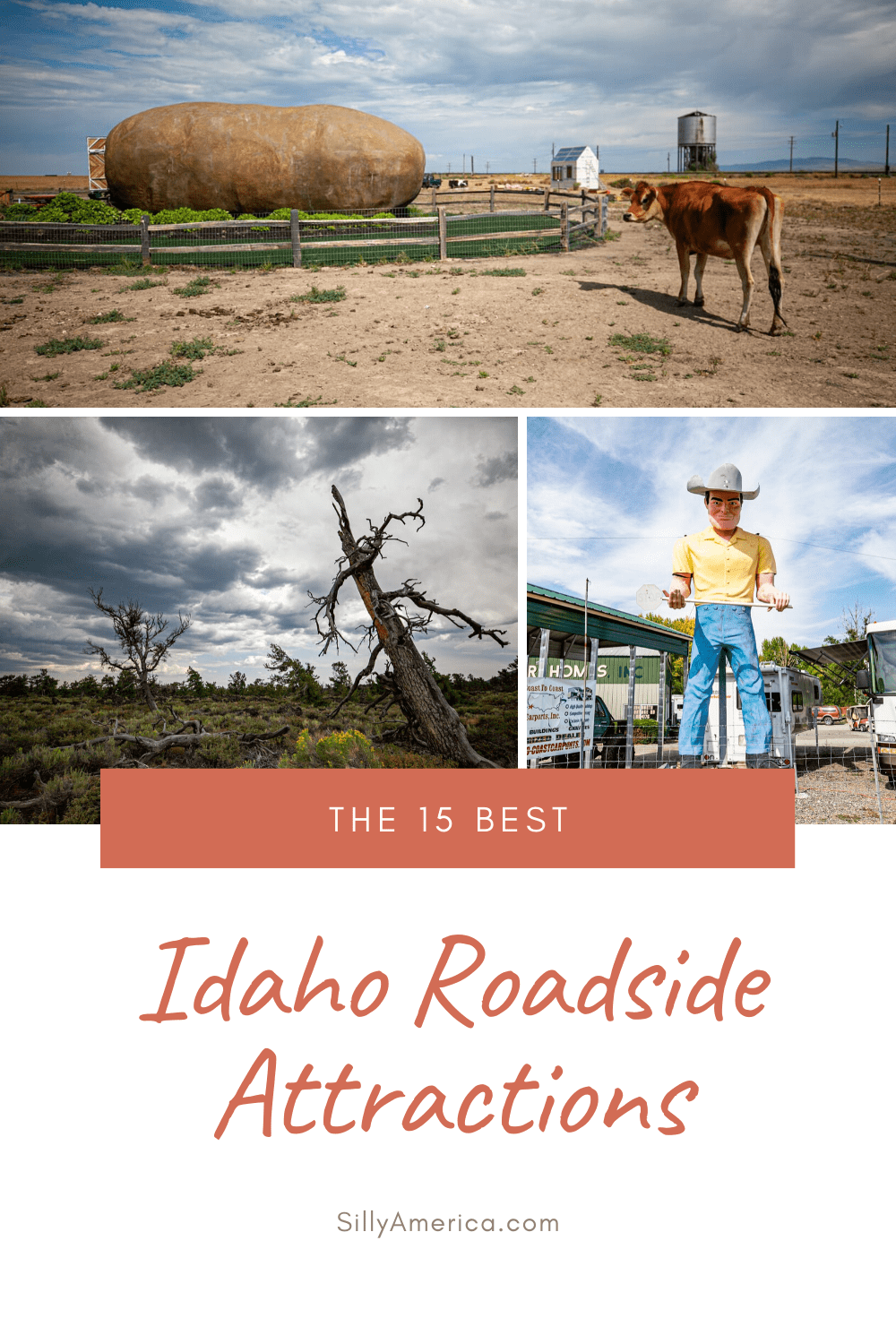 The best Idaho roadside attractions to visit on an Idaho road trip or weekend getaway. Add these roadside oddities and road trip stops to your bucket list and visit these roadside attractions in Idaho on your next travel adventure. #IdahoRoadsideAttractions #IdahoRoadsideAttraction #RoadsideAttractions #RoadsideAttraction #RoadTrip #IdahoRoadTrip #IdahoRoadTripMap #IdahoRoadTripBucketLists #IdahoBucketList #ThingsToDoInIdaho #IdahoRoadTripTravelTips #WeirdRoadsideAttractions