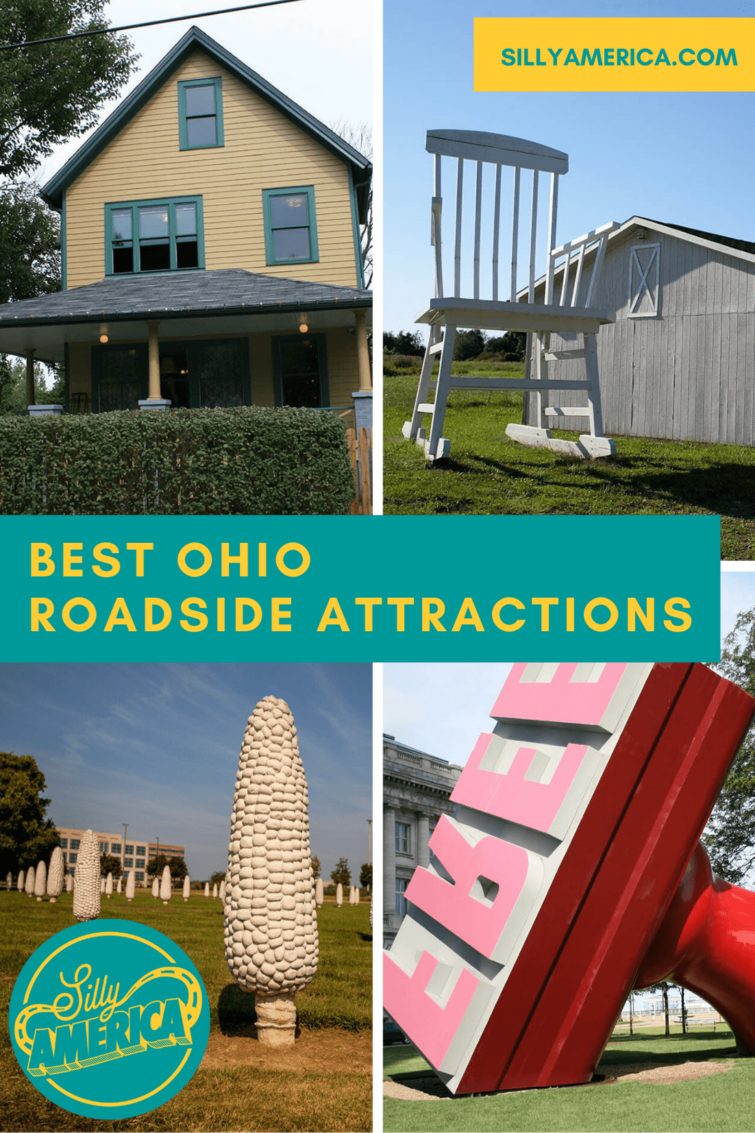 The best Ohio roadside attractions to visit on an Ohio road trip or weekend getaway. Add these roadside oddities and road trip stops to your bucket list and visit these roadside attractions in Ohio on your next travel adventure.    #OhioRoadsideAttractions #OhioRoadsideAttraction #RoadsideAttractions #RoadsideAttraction #RoadTrip #OhioRoadTrip #OhioRoadTripDestinations #OhioRoadTripIdeas #OhioRoadTripWithKids #OhioRoadTripBucketLists #OhioBucketList #OhioRoadTripIdeas #OhioRoadTripMap
