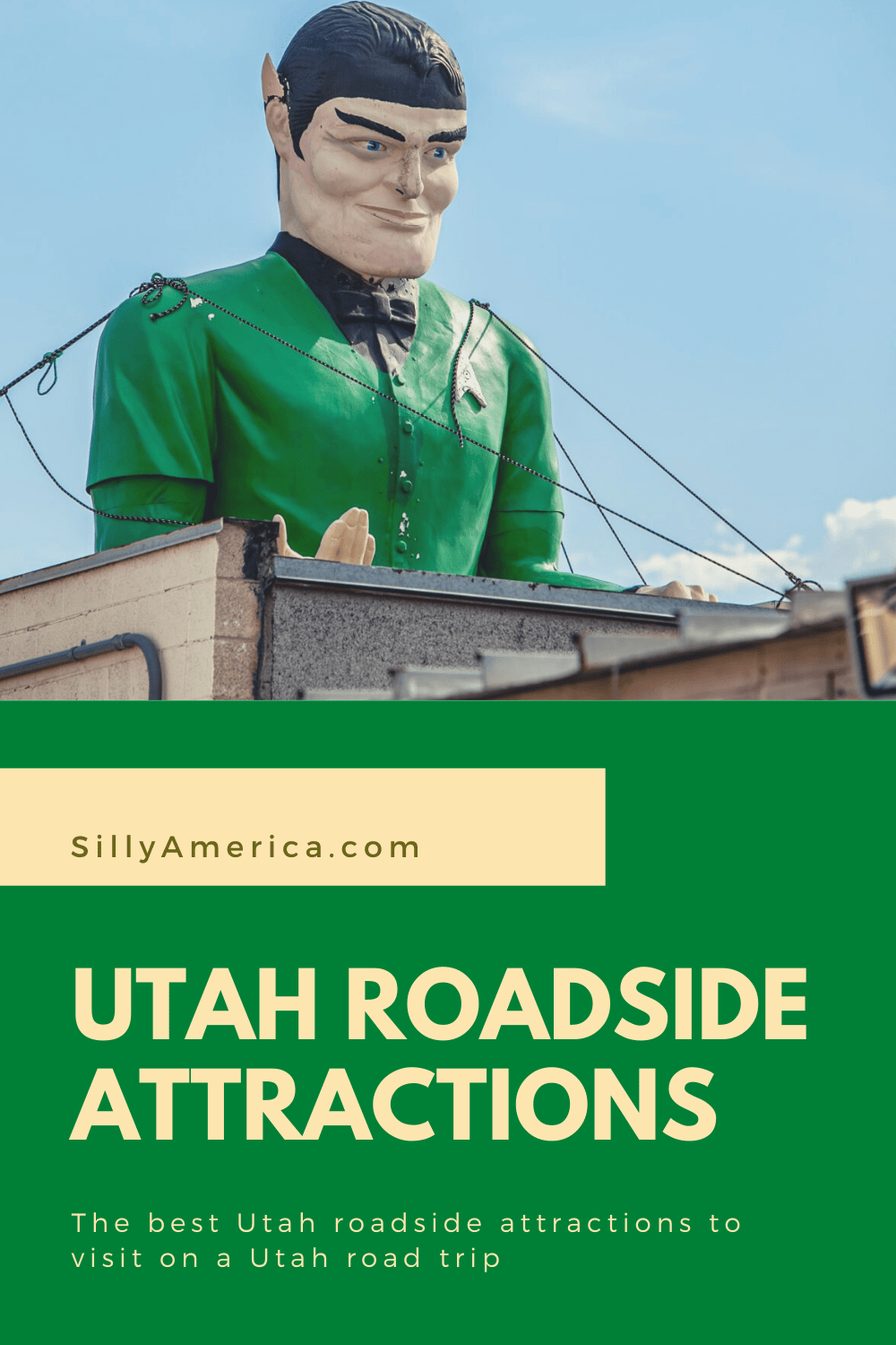 The best Utah roadside attractions to visit on a Utah road trip or weekend getaway. Add these roadside oddities to your travel bucket list or itinerary! #UtahRoadsideAttractions #UtahRoadsideAttraction #RoadsideAttractions #RoadsideAttraction #RoadTrip #UtahRoadTrip #UtahRoadTripWithKids #UtahRoadTripBucketLists #UtahBucketList #UtahRoadTripItinerary #UtahRoadTripPictures #UtahRoadTripMap #UtahWeekendRoadTrip #SaltLakeCityRoadTrip #UtahRoadTripAdventure #WeirdRoadsideAttractions