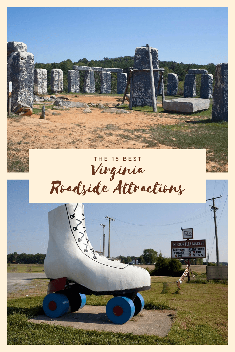 The best Virginia roadside attractions to visit on a Virginia road trip. Add these roadside oddities to your travel bucket list, itinerary, or route map! Fun road trip stops for kids or adults! #VirginiaRoadsideAttractions #VirginiaRoadsideAttraction #RoadsideAttractions #RoadsideAttraction #RoadTrip #VirginiaRoadTrip #VirginiaRoadTripBucketLists #VirginiaBucketList #VirginiaRoadTripIdeas #WeirdRoadsideAttractions