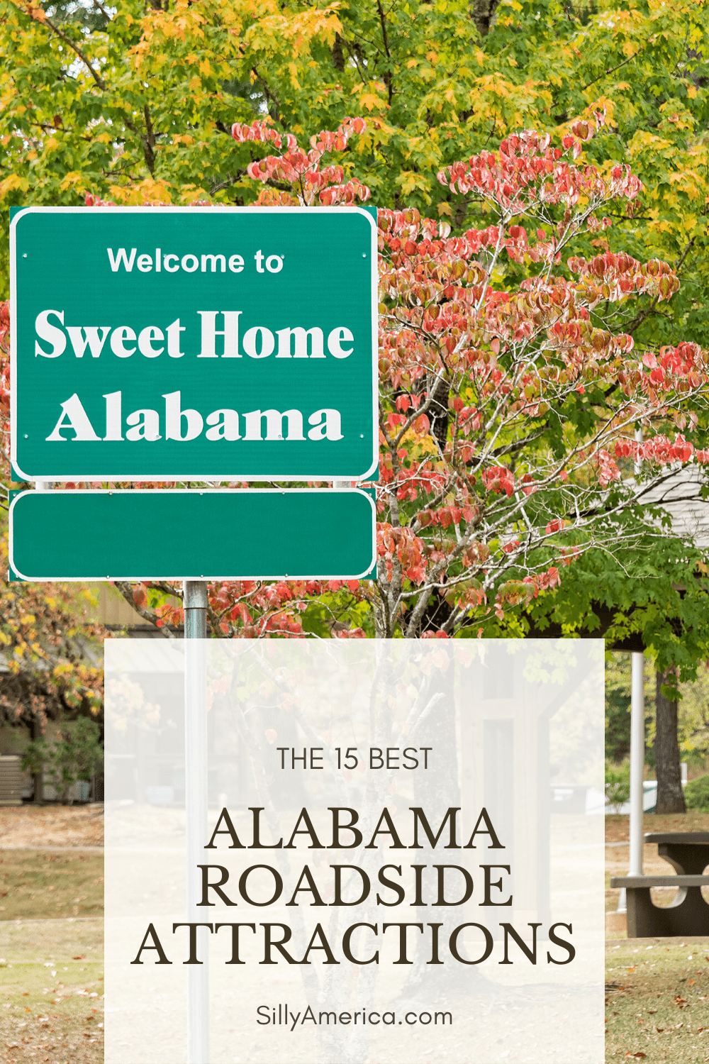 The best Alabama roadside attractions to visit on an Alabama road trip. Add these roadside oddities to your travel bucket list, itinerary, or route map! These places to visit in Alabama are fun road trip stops for kids or adults! #Alabama #AlabamaRoadTrip #AlabamaRoadsideAttractions #RoadsideAttractions #RoadsideAttraction #PlacesToVisitInAlabama #AlabamaRoadTripIdeas #RoadTrip #RoadTrips #AlabamaRoadTripItinerary #WeirdRoadsideAttractions