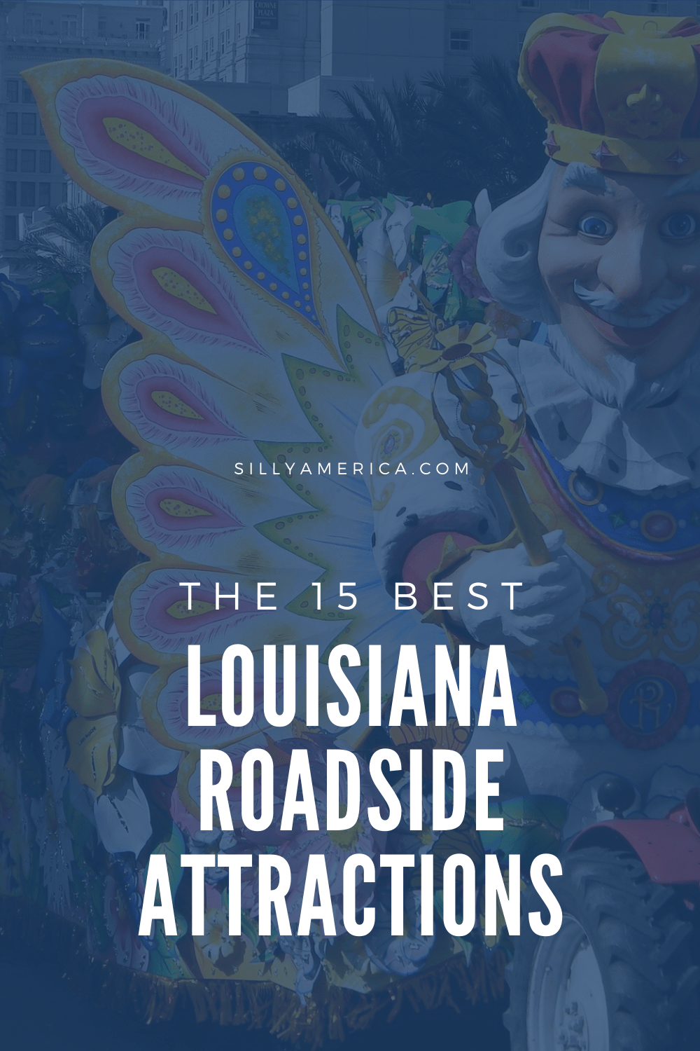 The best Louisiana roadside attractions to visit on a Louisiana road trip. Add these roadside oddities to your travel bucket list, itinerary, or route map! Fun road trip stops for kids or adults heading to New Orleans, Baton Rouge, or more. #LouisianaRoadsideAttractions #LouisianaRoadsideAttraction #RoadsideAttractions #RoadsideAttraction #RoadTrip #LouisianaRoadTrip #LouisianaRoadTripMap #ThingsToDoInLouisiana #LouisianaRoadTripIdeas #NewOrleansRoadTrip