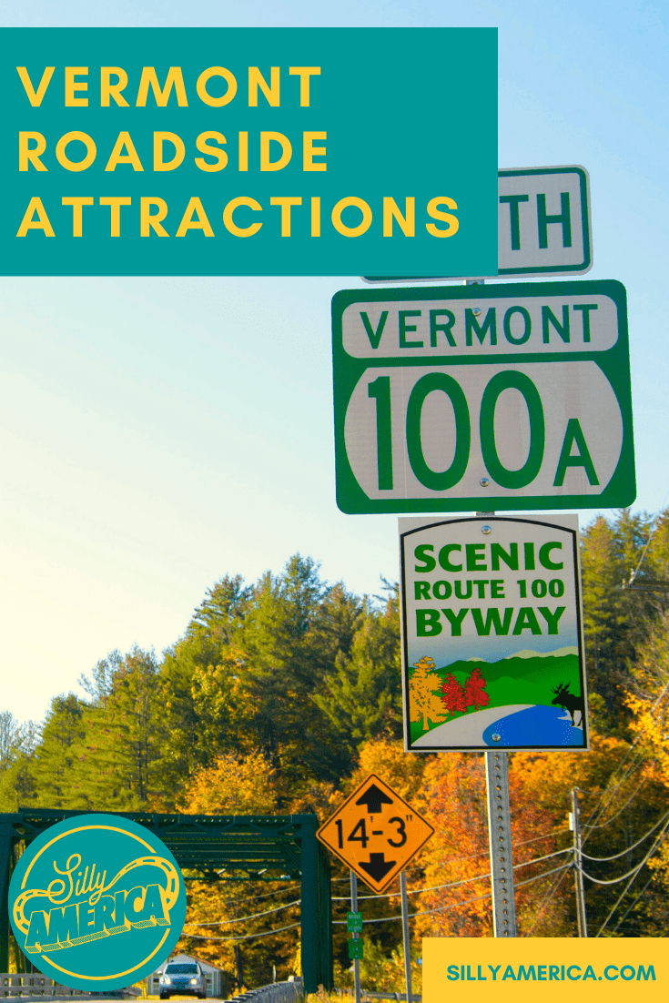 The best Vermont roadside attractions to visit on a Vermont  road trip. Add these roadside oddities to your travel bucket list, itinerary, or route map! Weird roadside attractions and other road trip stops for kids or adults! #VermontRoadsideAttractions #VermontRoadsideAttraction #RoadsideAttractions #RoadsideAttraction #RoadTrip #VermontRoadTrip #VermontFallRoadTrip #VermontSummerRoadTrip #VermontWinterRoadTrip #WeirdRoadsideAttractions