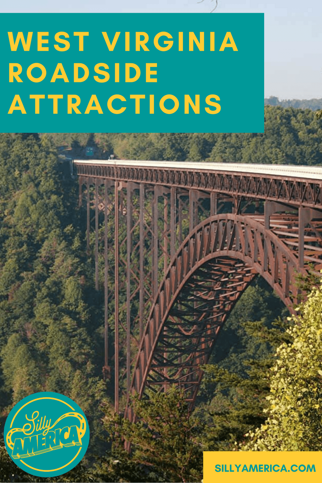 The best West Virginia roadside attractions to visit on a West Virginia road trip. Add these roadside oddities to your travel bucket list or itinerary! Weird roadside attractions and road trip stops for kids or adults. #WestVirginiaRoadsideAttractions #WestVirginiaRoadsideAttraction #RoadsideAttractions #RoadsideAttraction #RoadTrip #WestVirginiaRoadTrip #WestVirginiaTravelRoadTrip #ThingsToDoInWestVirginia #WestVirginiaMountainsRoadTrip #WeirdRoadsideAttractions