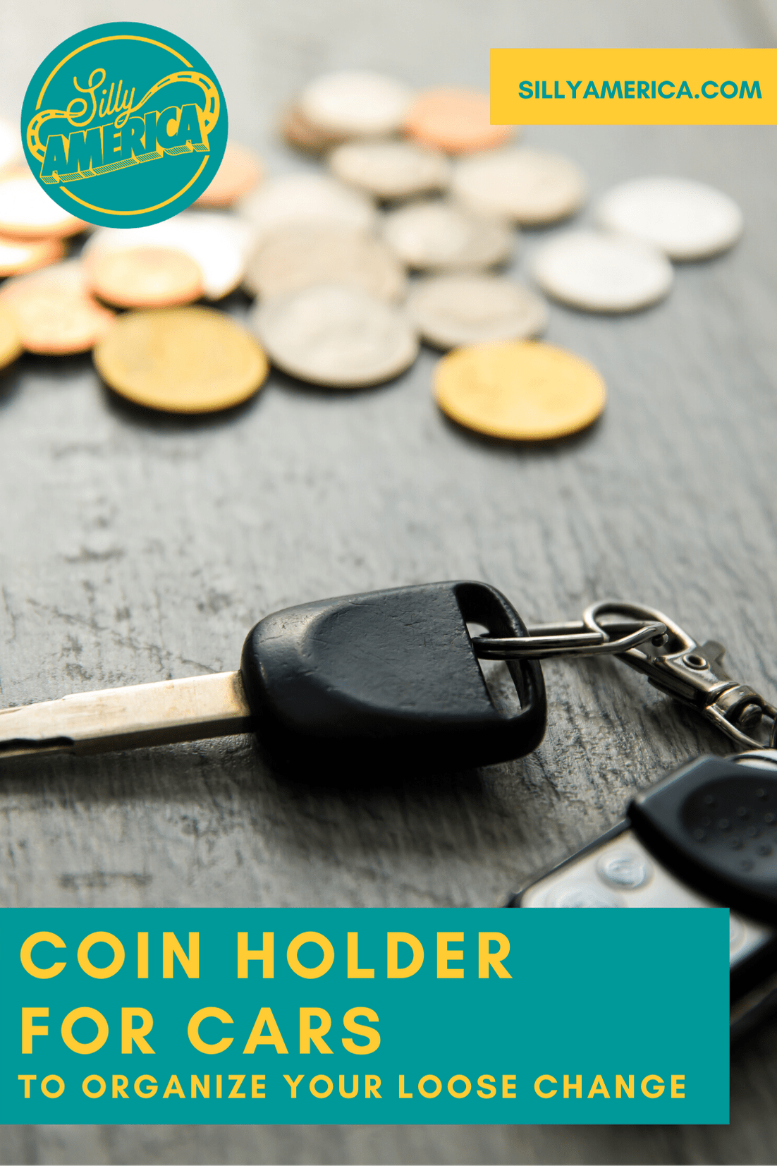 Having a coin holder for cars in your car will assure you that much-needed coins are always an arm-length away. Have change on had for tolls and parking and organize your loose change on your dashboard, glove box, or cup holder. #RoadTripEssentials #LongRoadTripEssentials #RoadTripEssentialsList #RoadTripEssentialsHacks #RoadTripEssentialsForCars #RoadTripEssentialsChecklist