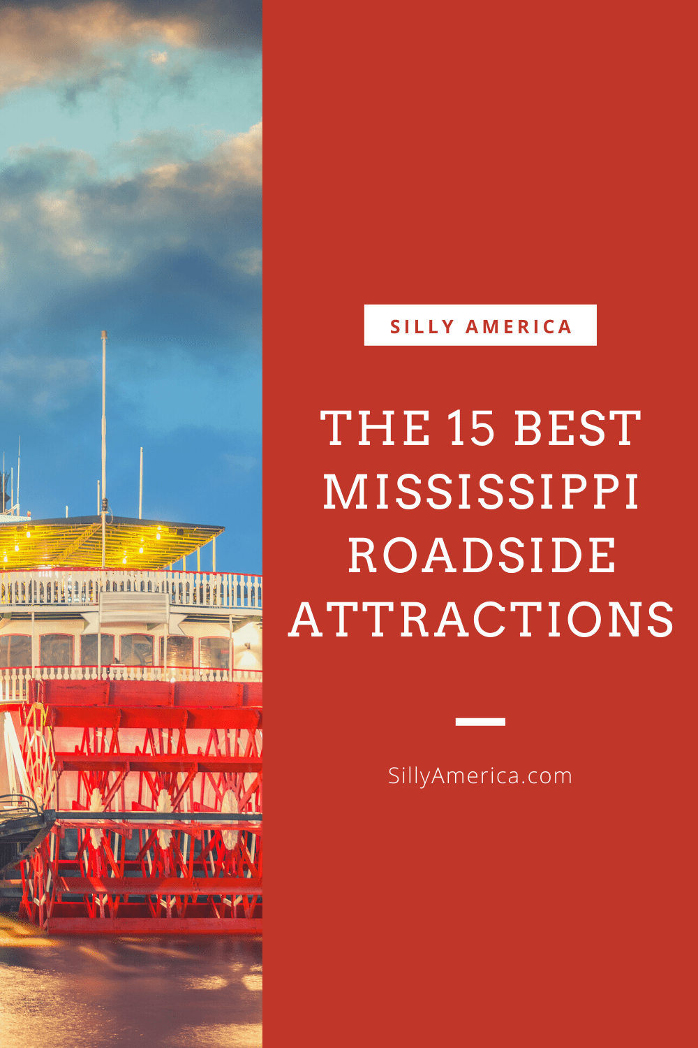 The best Mississippi roadside attractions to visit on a Mississippi road trip. Add these roadside oddities to your travel bucket list, itinerary, or map! Weird roadside attractions and road trip stops for kids and adults on the Great River Road and beyond. #MississippiRoadsideAttractions #MississippiRoadsideAttraction #RoadsideAttractions #RoadsideAttraction #RoadTrip #MississippiRoadTrip #MississippiRoadTripBucketLists #MississippiBucketList #MississippiRiverRoadTrip #MississippiTravel