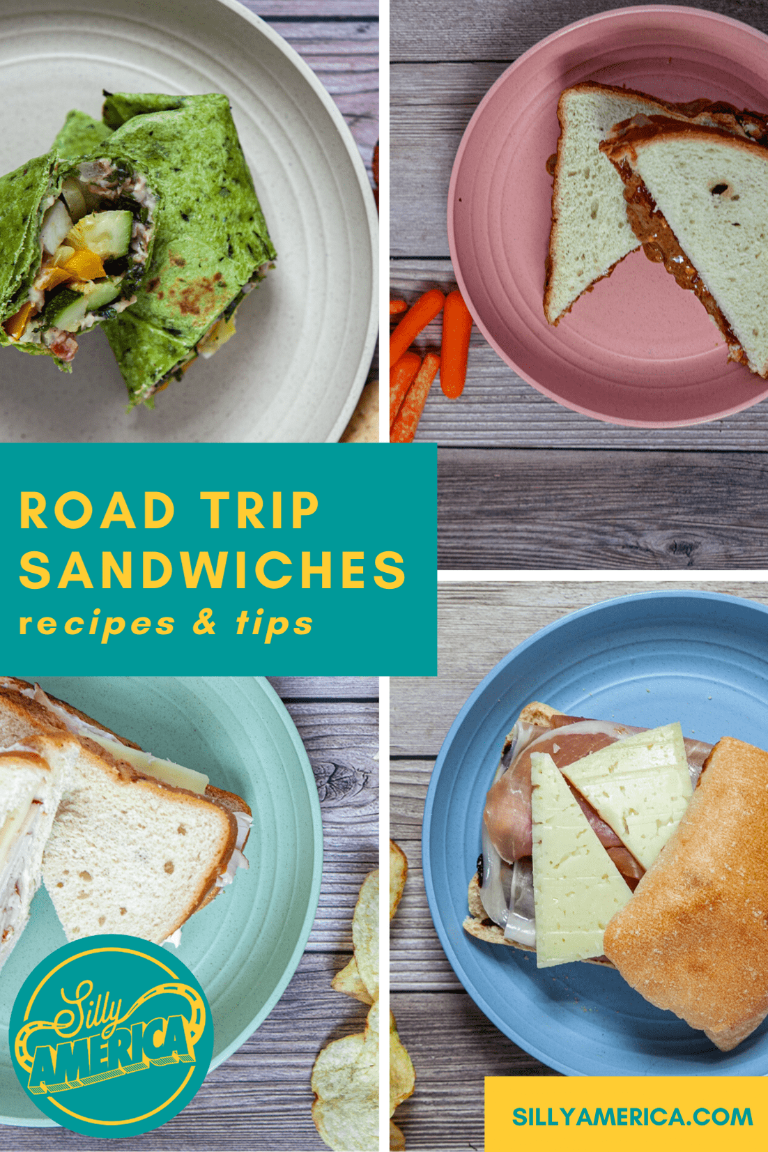 Road Trip Sandwiches To Pack For A Car Trip Silly America