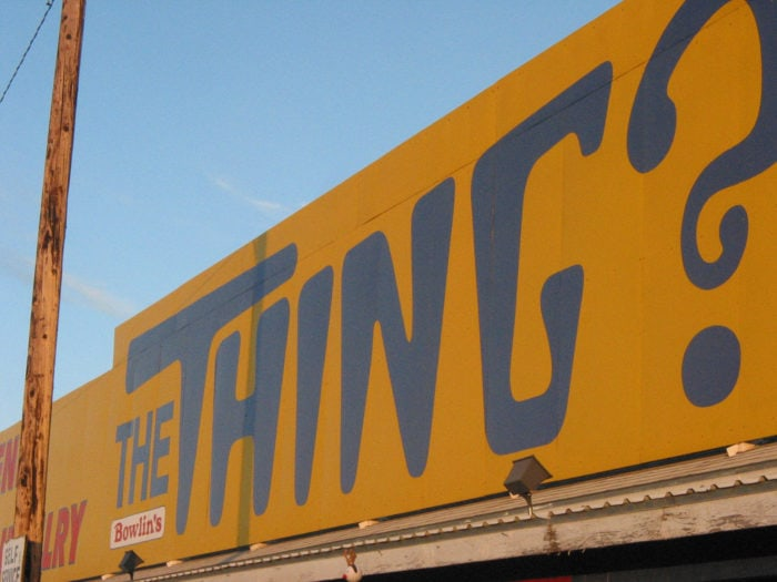 Best Roadside Attractions -Arizona - The Thing