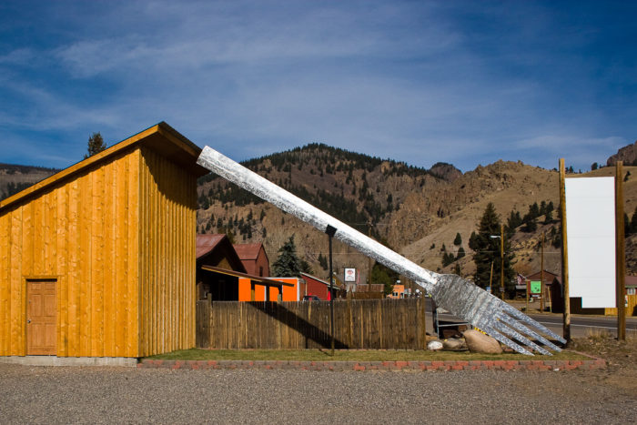 The Creede Fork: The Largest Fork in America in Colorado - Weird Roadside Attractions