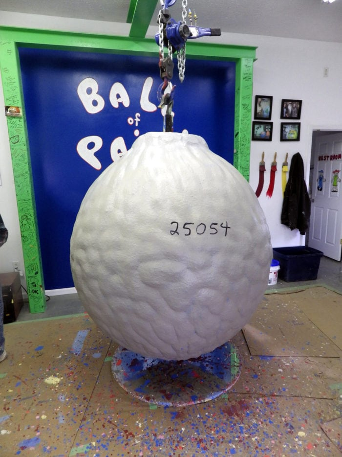 Best Roadside Attractions - Indiana - World's Largest Ball of Paint