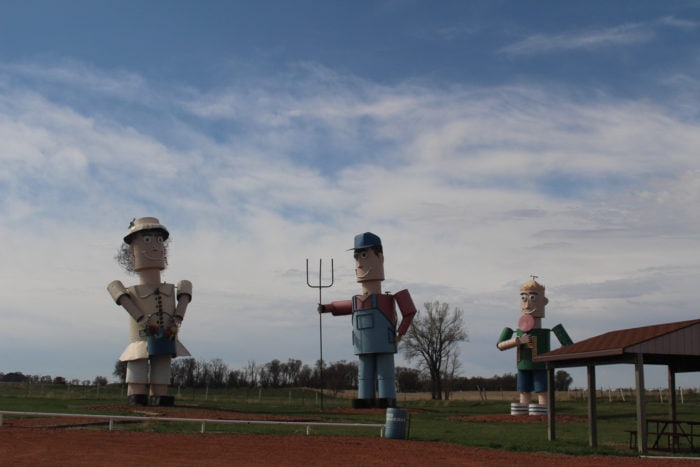 Weird roadside attractions - Enchanted Highway in North Dakota