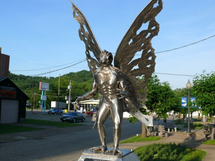 Best Roadside Attractions - Mothman Statue in Point Pleasant, West Virginia