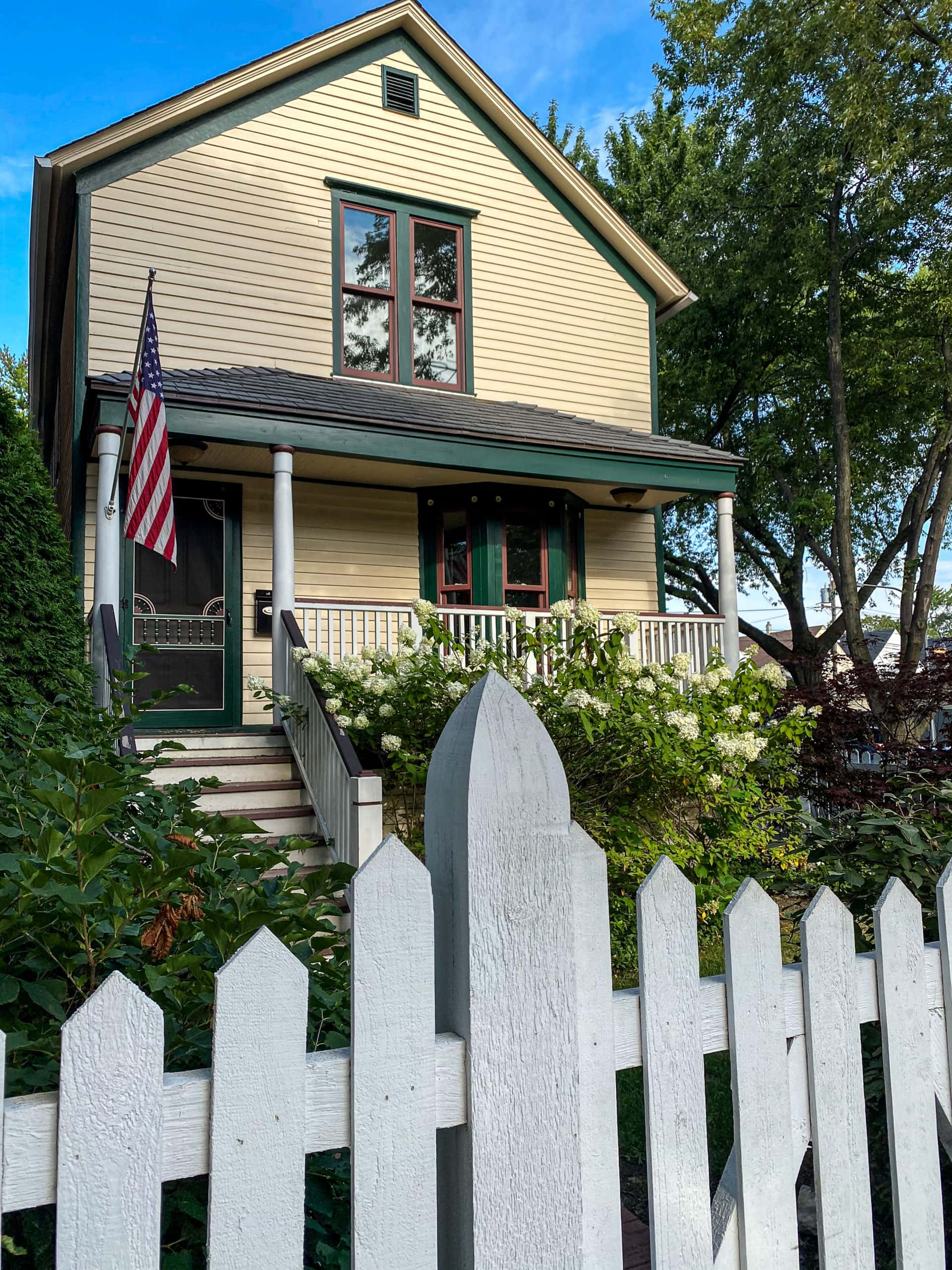 Walt Disney Birthplace house in Chicago, Illinois