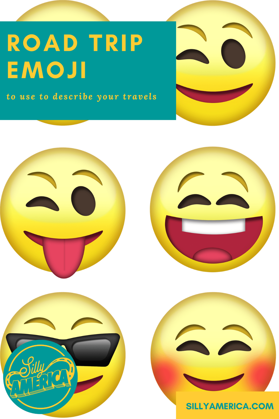 Are you looking for the best road trip emoji to represent your travels? Whether you're looking for the perfect symbol to text your friend or want to enhance your Instagram caption, here are some of the best emoji to use to describe your road trip! #RoadTrip #RoadTripPlanning #Emoji #Emojis #RoadTrips #RoadTripEmoji