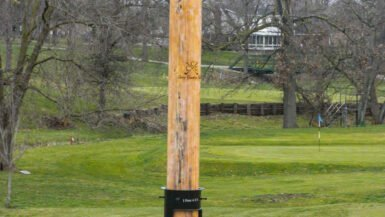 Casey Illinois Attractions: Big Things in a Small Town - World's Largest Golf Tee in Casey, Illinois