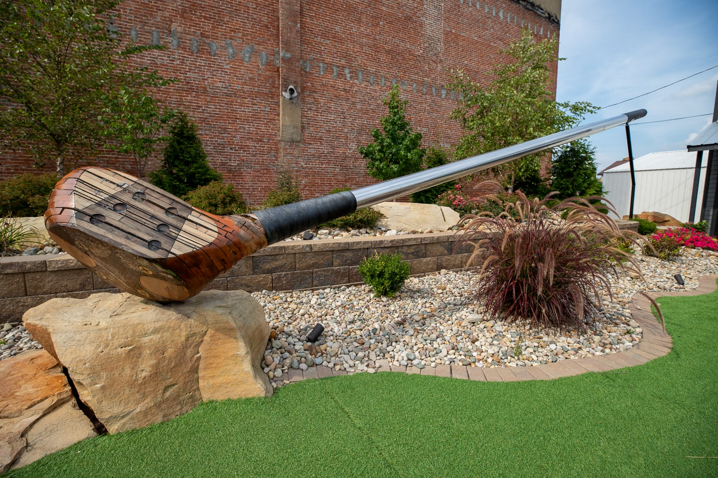 World's Largest Golf Club in Casey, Illinois roadside attraction