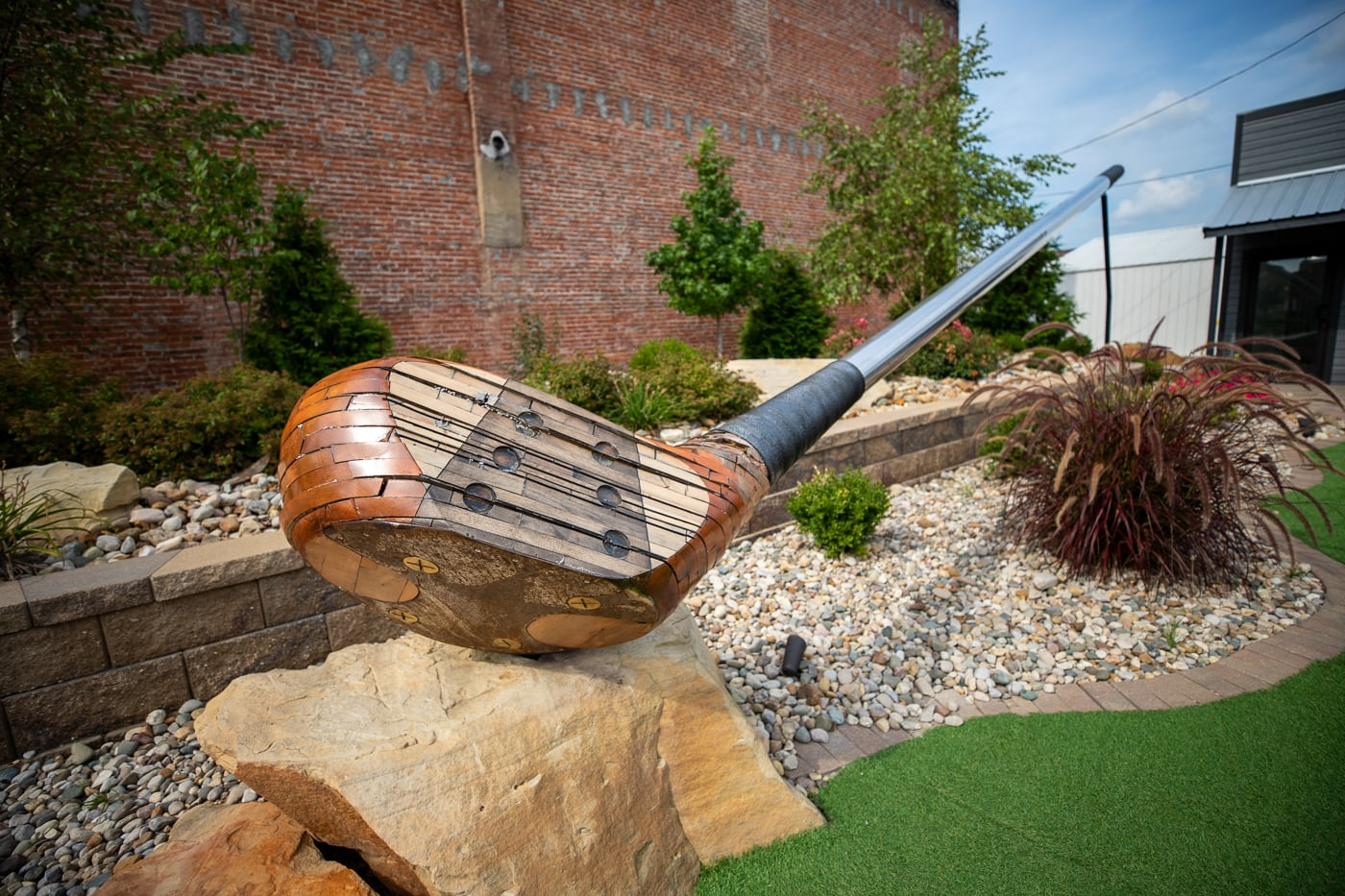 World's Largest Golf Driver in Casey, Illinois roadside attraction