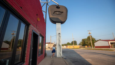World's Largest Key in Casey, Illinois roadside attraction
