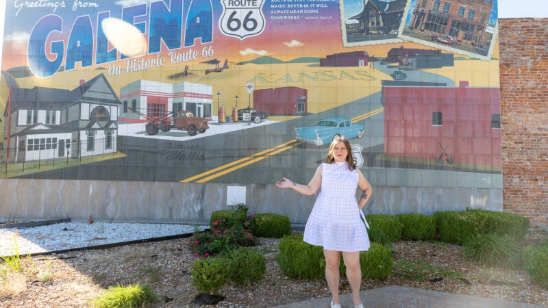 Greetings from Galena mural in Galena, Kansas on Route 66
